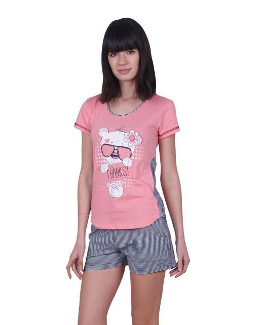 Пижама женская шорты Nicoletta 80717