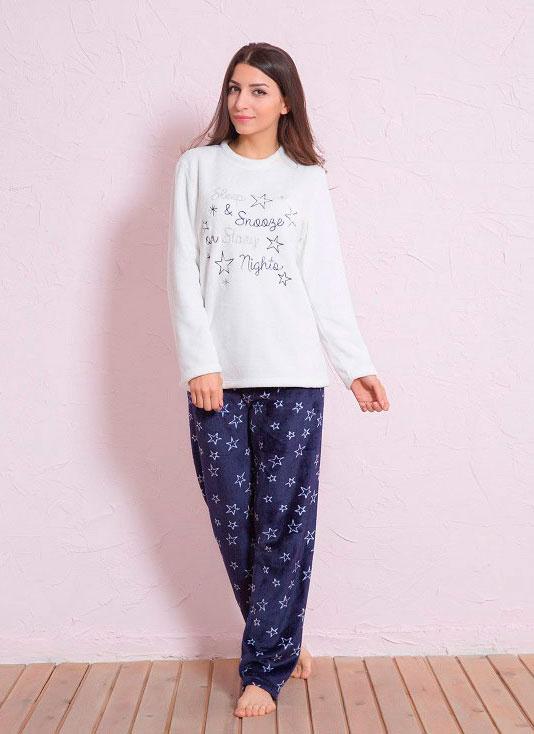 Пижама женская брюки SNK24 3288