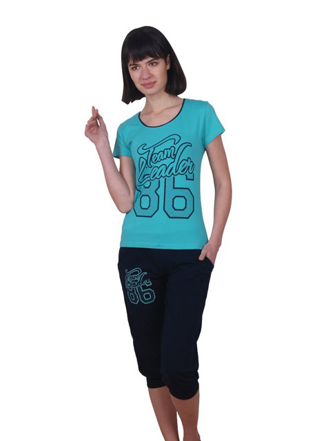 Пижама женская капри NICOLETTA 82369