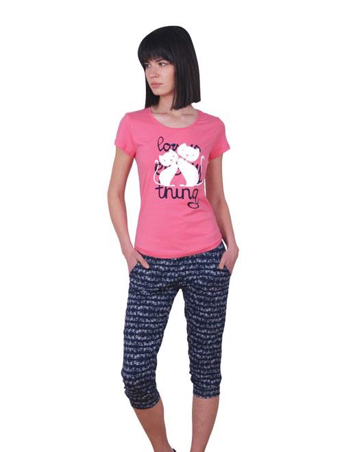 Пижама женская капри NICOLETTA 82371
