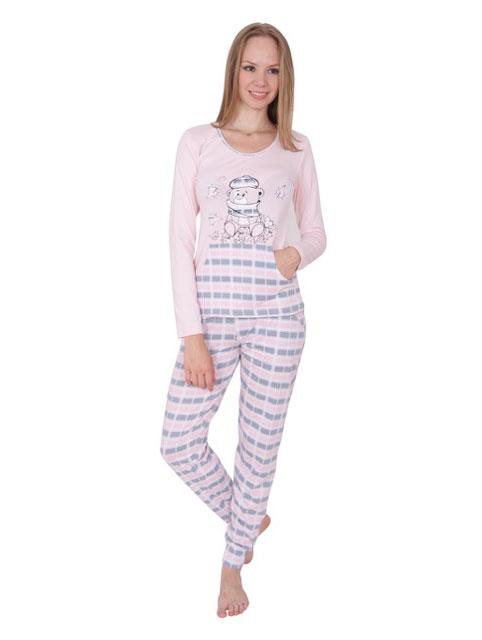 Пижама женская брюки NICOLETTA 86736