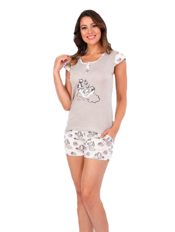 Пижама женская шорты Metin 8908