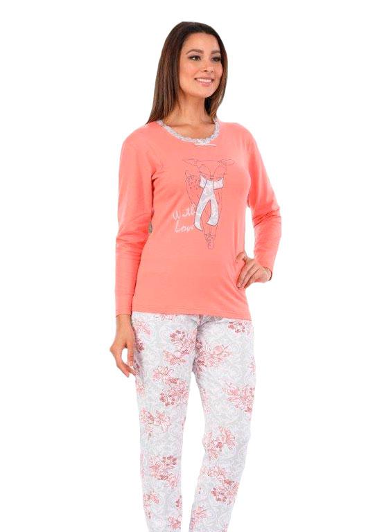 Пижама женская брюки Metin 5954