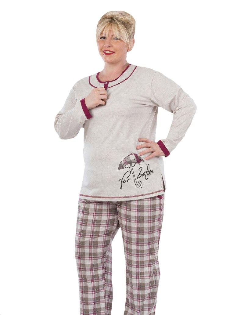 Пижама женская Metin 5055