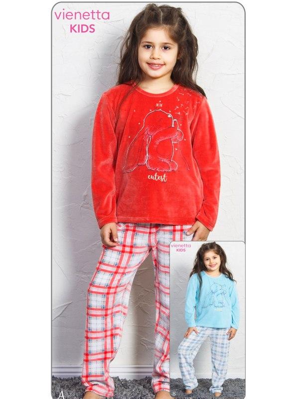 Пижама детская Велюр 7050041847