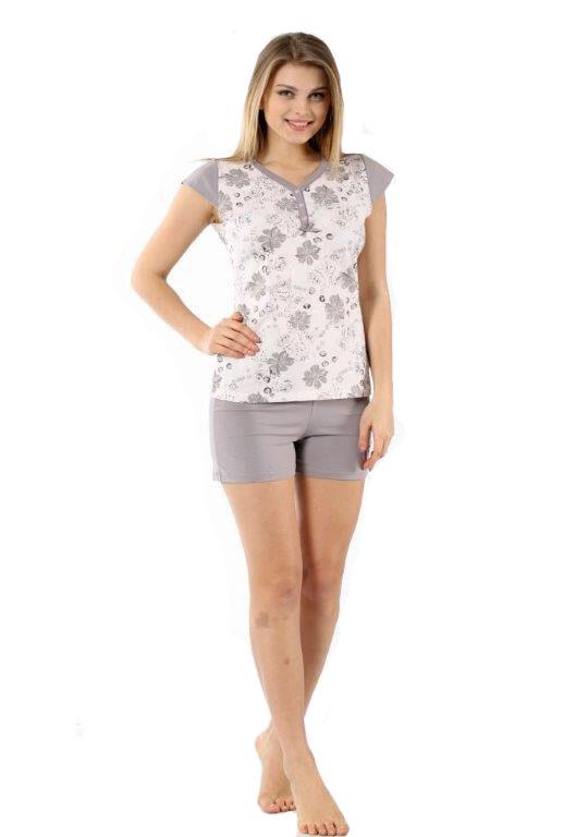 Пижама женская шорты Metin 8830