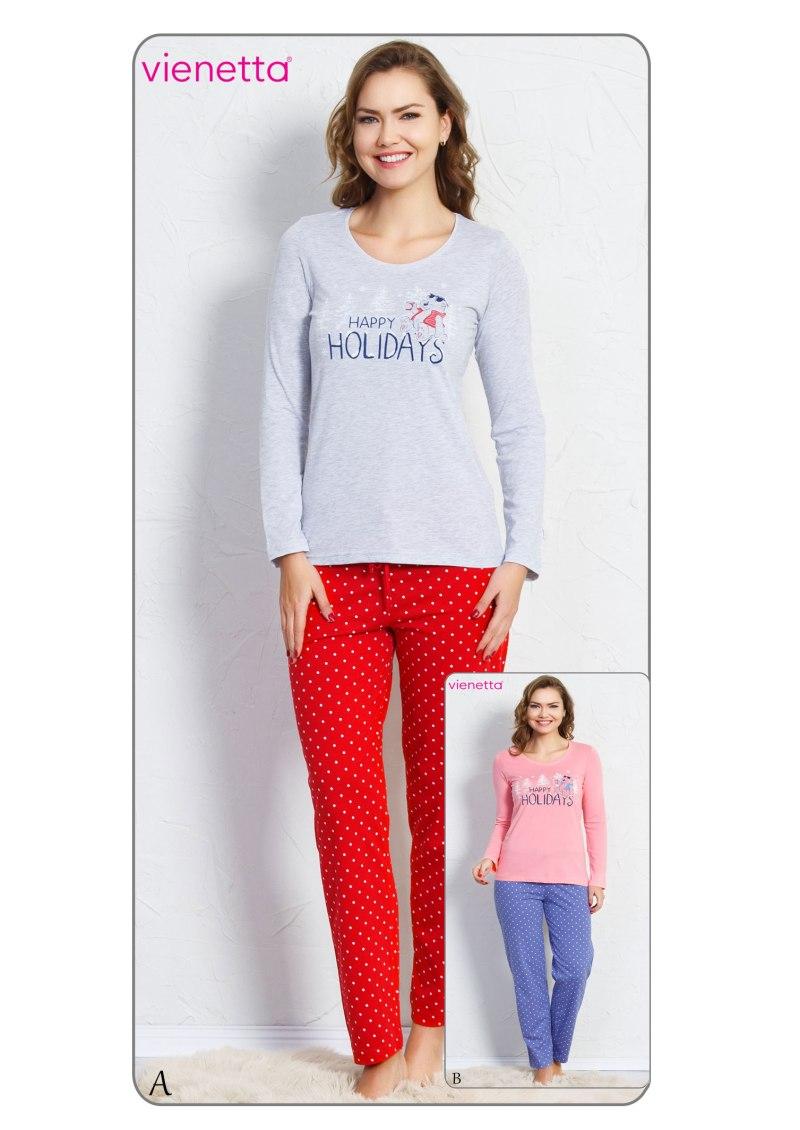 Пижама женская брюки 7040671650