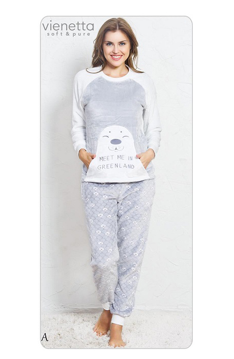Пижама женская брюки SNK81 3439