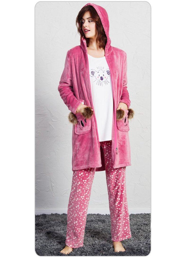 Пижама женская брюки 3-ка SNK-723 3469
