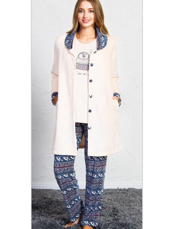 Пижама женская брюки 3-ка SNK-758 3504