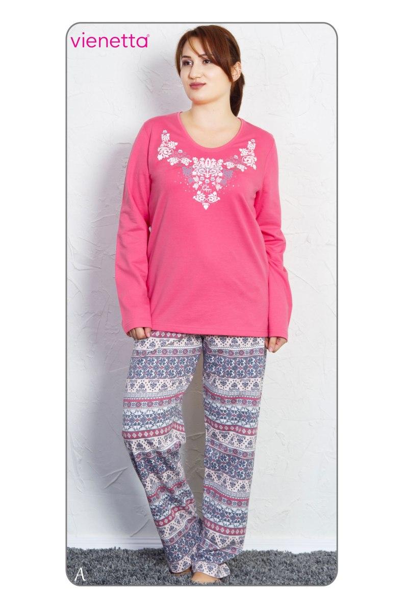 Пижама женская байка 7051385380