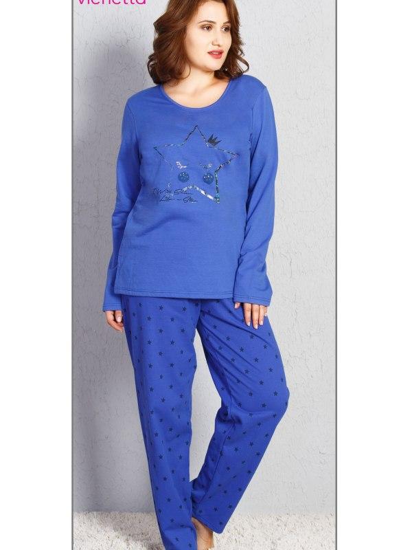 Пижама женская байка 7051401280