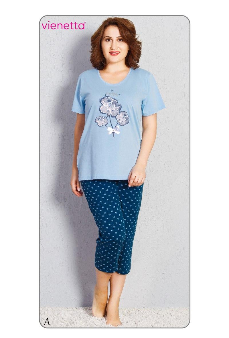 Пижама женская Капри 7090162564
