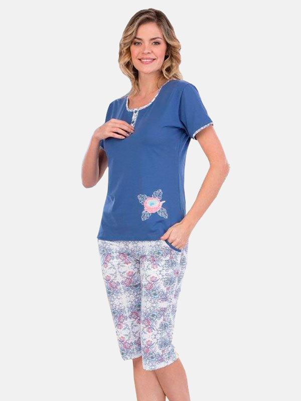 Пижама женская капри