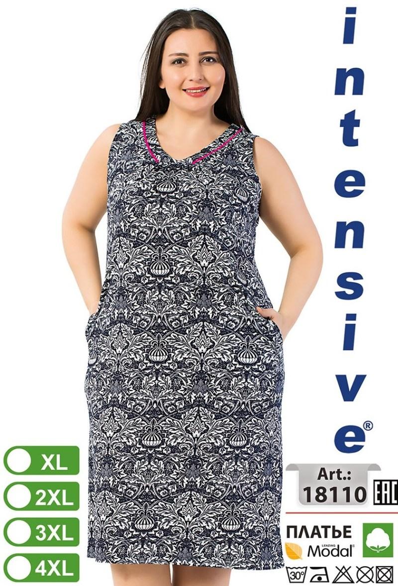 Платье для отдыха Intensive 18110 XL-4XL