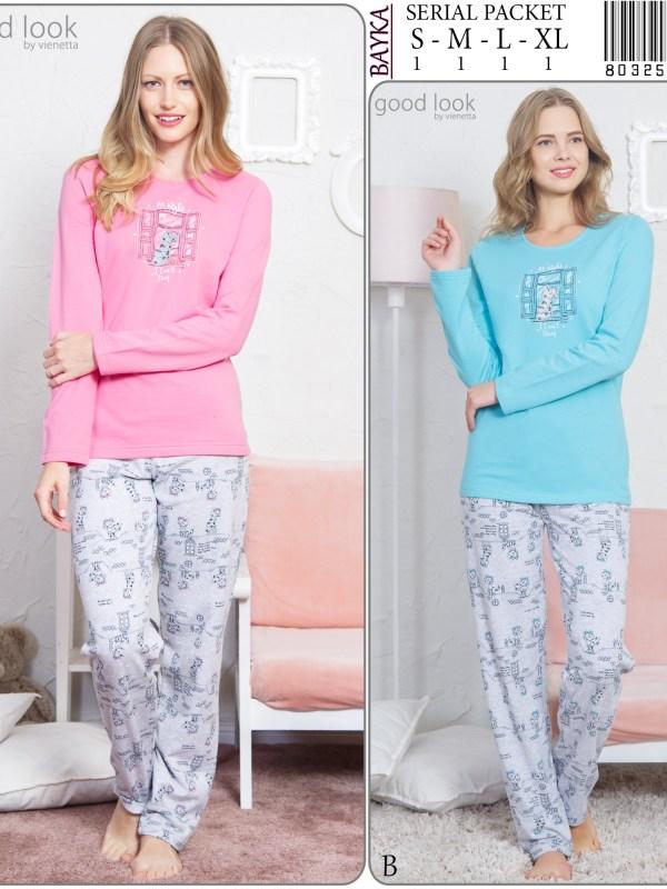Пижама женская Брюки 8032554280