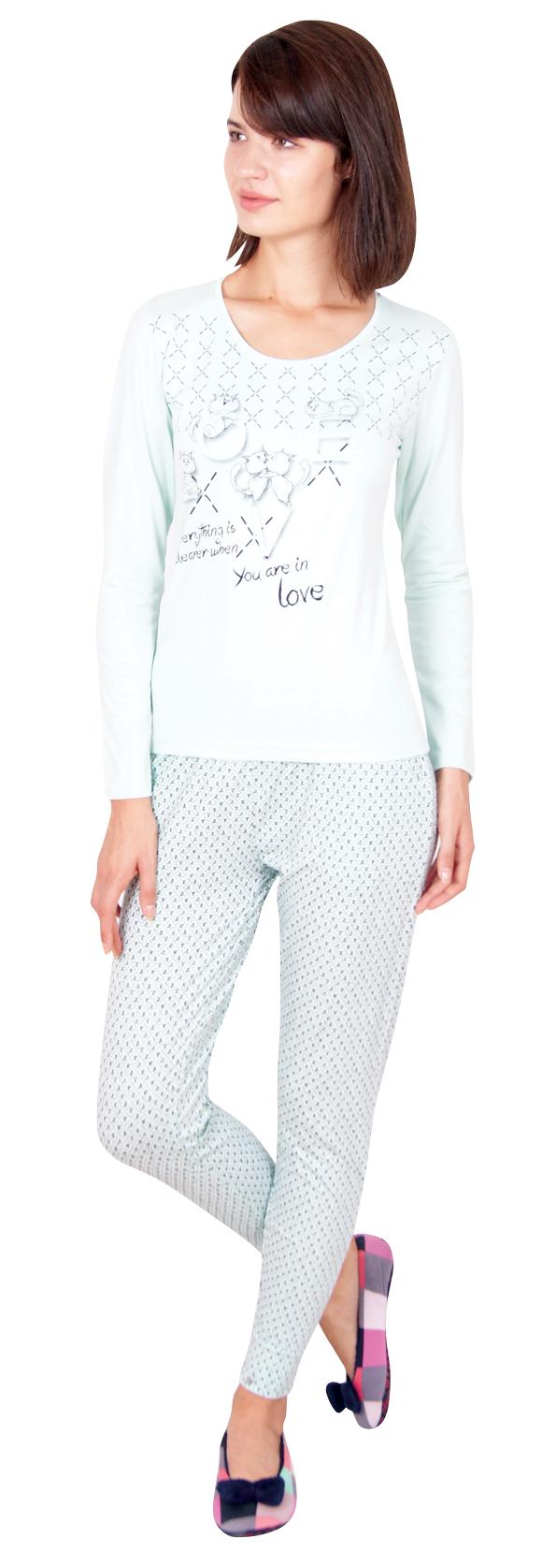 Пижама женская Брюки 96062