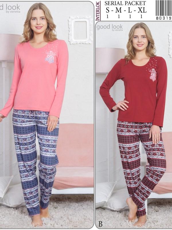 Пижама женская Интерлок 8031923051