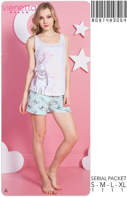 Пижама женская Шорты 8091493054