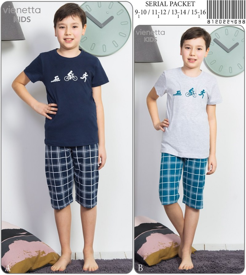Пижама детская капри 8120224698