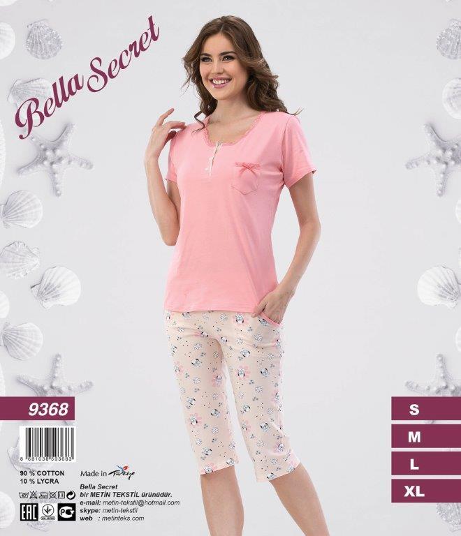 Пижама женская Капри Metin 9368