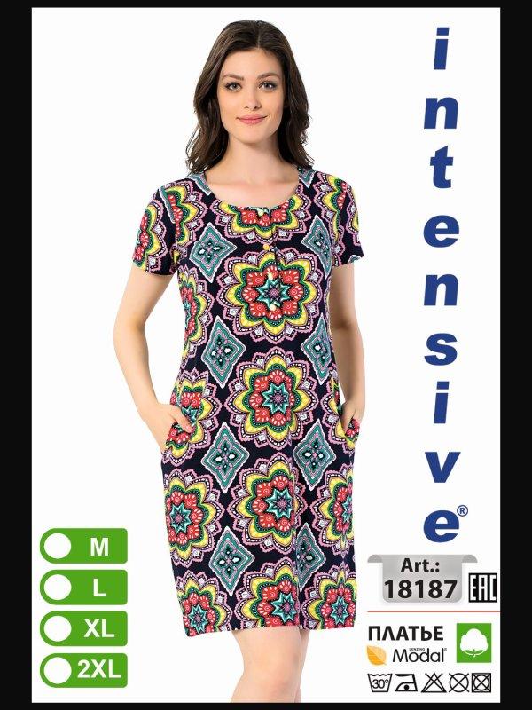 Платье для отдыха INT 18187 XL-4XL