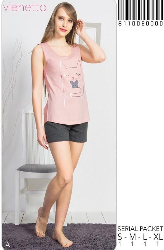 Пижама женская шорты 8110020000