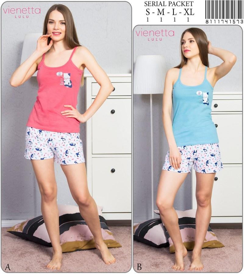 Пижама женская Шорты 8111741573