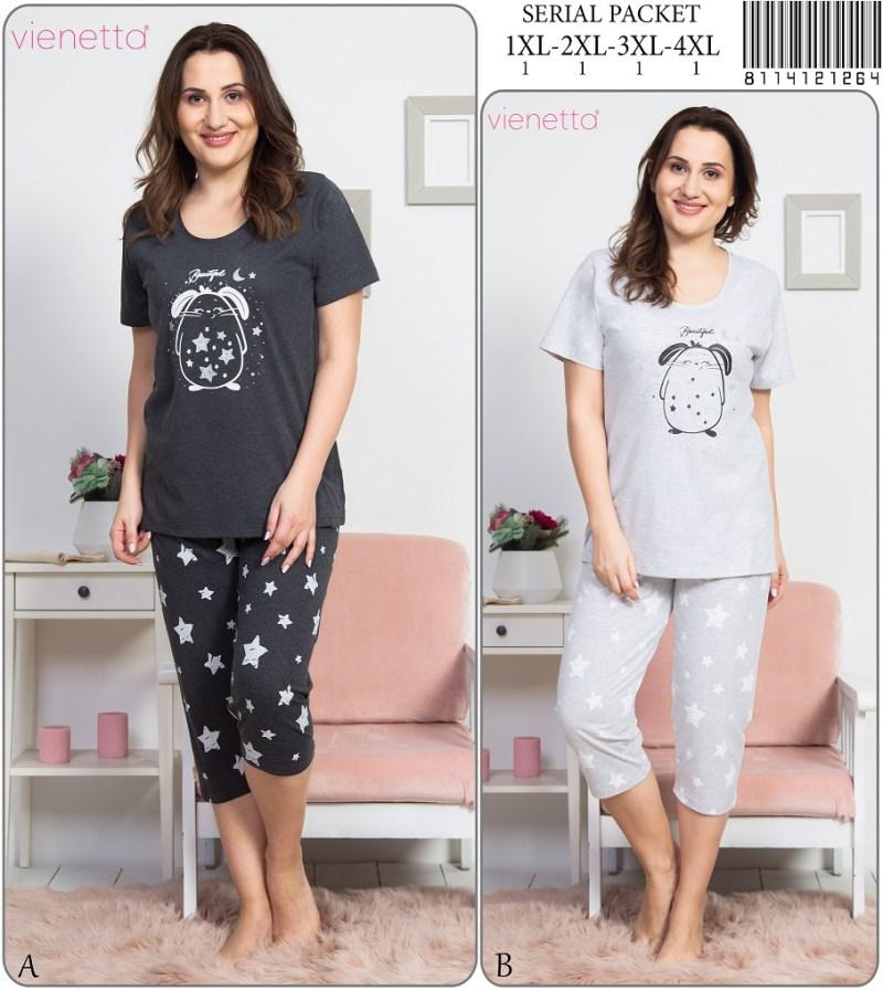Пижама женская капри 8114121264