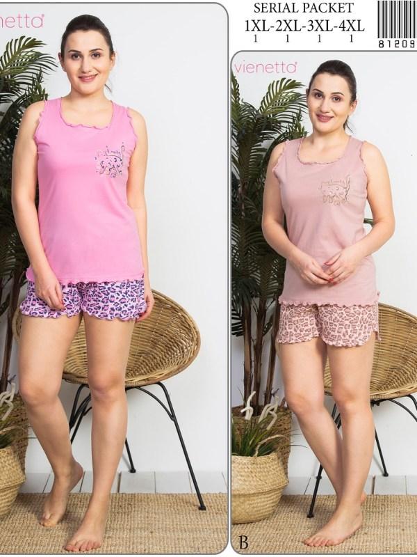 Пижама женская шорты 8120973058