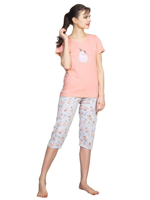 Пижамы женские капри
