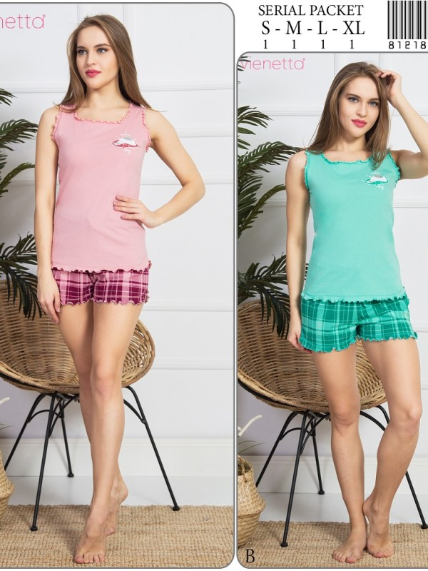 Пижама женская шорты 8121892081