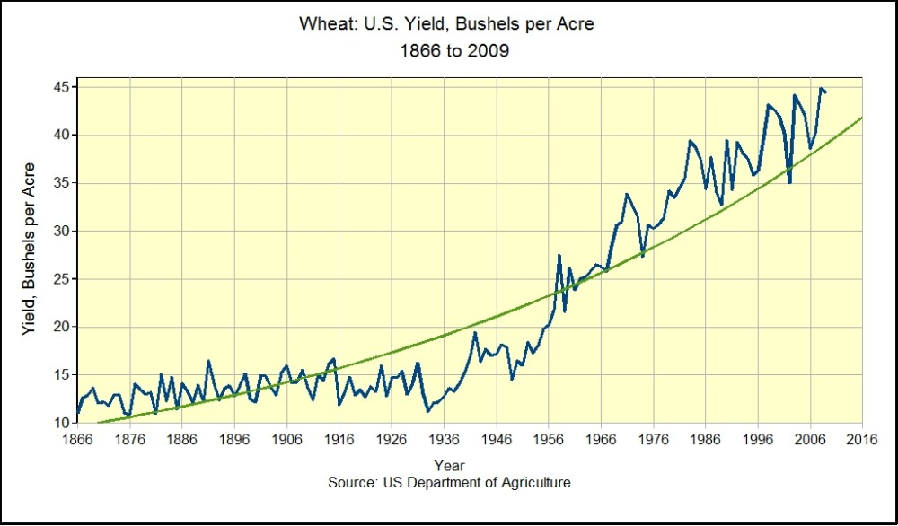 The Staff of Life:  Wheat Trends in the U.S. (2/4)