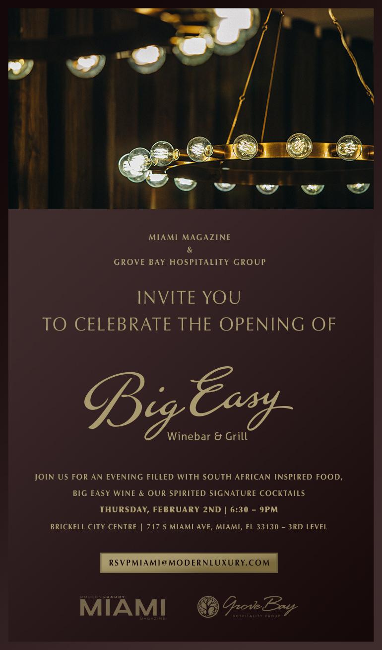big easy restaurant grand opening