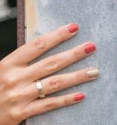 Manicure en trouwring