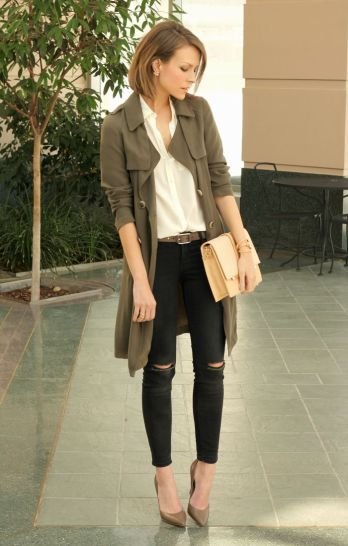 Olive-Green-Trench-Coat-Outfit