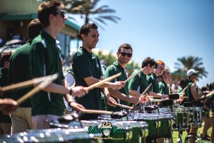 106 - USF Spring Game 2018 - USF Marching Band Thundering Herd Drumline by Dennis Akers - SoFloBulls.com (6016x4016)