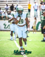 20 - USF Spring Game 2018 - USF RB Brian Norris by Dennis Akers - SoFloBulls.com (3994x4993)