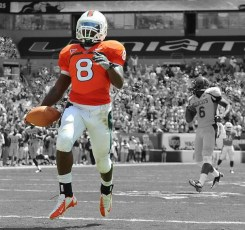 Miami Hurricane RB #8 Duke Johnson