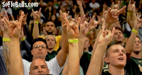 USF Nominated for Student Section of the Year | by Matthew Manuri | SoFloBulls.com |