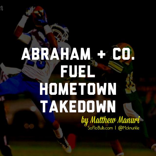 Abraham + Co. Fuel Hometown Takeover | by Matthew Manuri | SoFloBulls.com |
