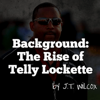 Background - The Rise of Telly Lockette via JT Wilcox | SoFloBulls Blog | by Matthew Manuri