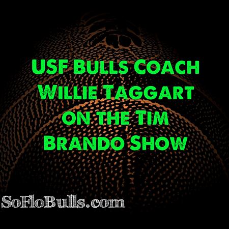 USF Bulls Coach Willie Taggart on the Tim Brando Show