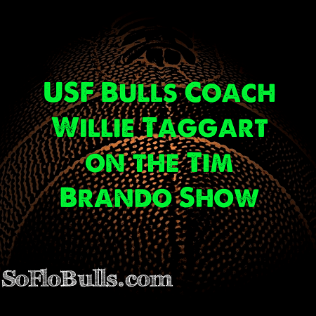 USF Bulls Coach Willie Taggart on the Tim Brando Show