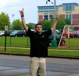 The Spartan Showdown | Dustin Eldridge during the Weather Delay | SoFloBulls.com |