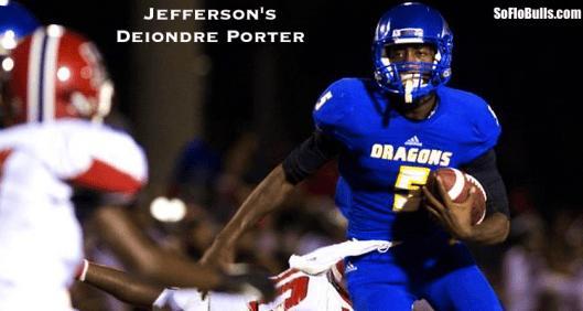 QB Deiondre Porter (Jefferson HS/Tampa,FL) | SoFloBulls Blog