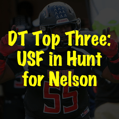DT Chris Nelson (Victory Christian Academy:Lakeland, FL) | DT Top Three: USF in Hunt for Nelson | SoFloBulls Blog