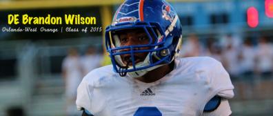 West Orange DE Brandon Wilson   Class of 2015   SoFloBulls Blog