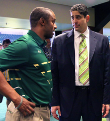 Orlando Antigua and Willie Taggart | South Florida Bulls 2014