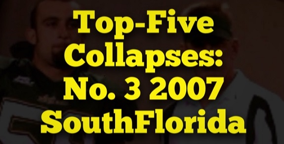 Top-Five Collapses: No. 3 2007 South Florida | SoFloBulls.com